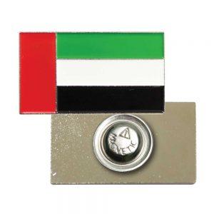 UAE Flag Badges in Metal