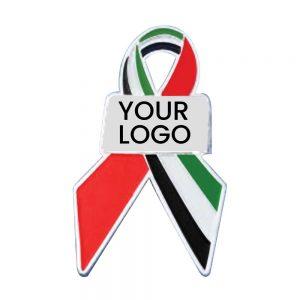 UAE Flag Ribbon Badges