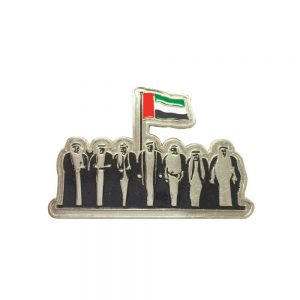 UAE Metal Badges