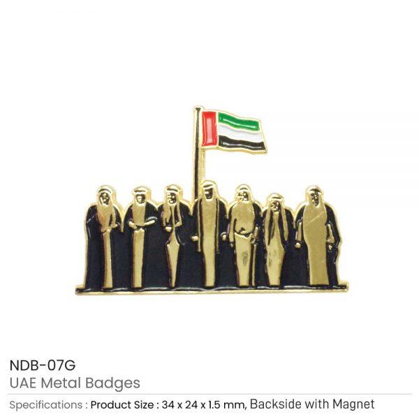 UAE Day Metal Badges
