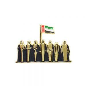 National Day Metal Badges
