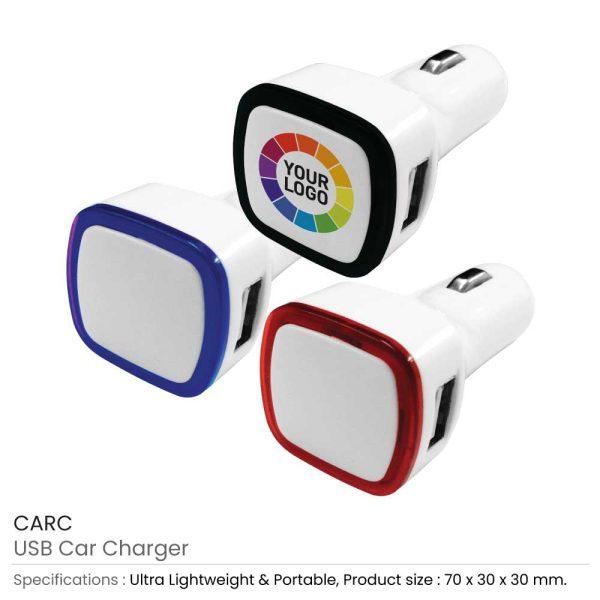 USB Car Charger CARC