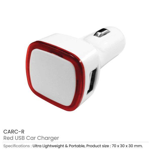 USB Car Charger CARC-R