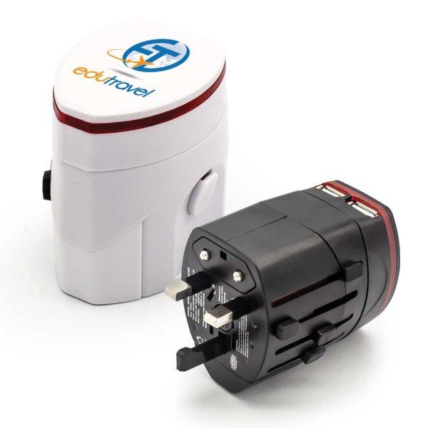 Branding Universal Travel Adapters JU-TA-002