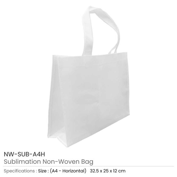 White Sublimation Bags