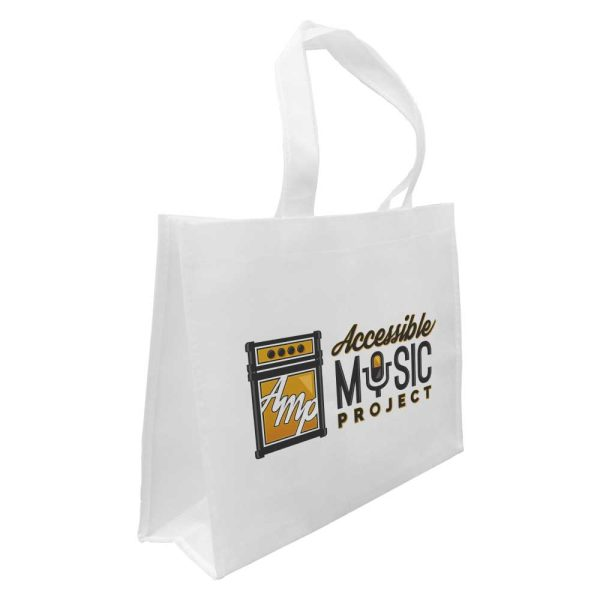 Branding White Sublimation Bags