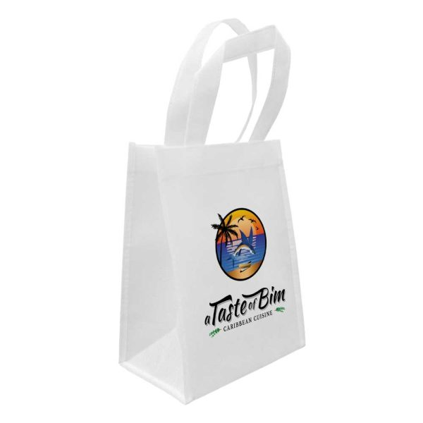 Branding A5 White Sublimation Bags