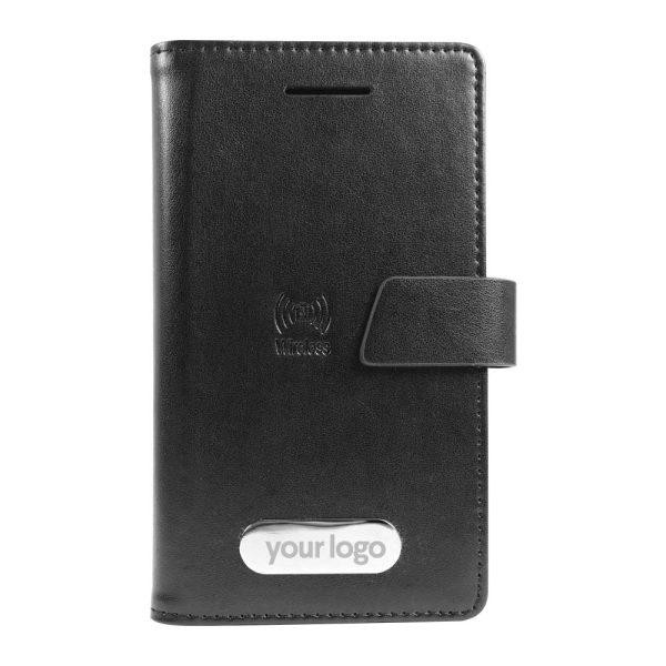 Branding Wireless Powerbank Wallet JU-WPB-4000