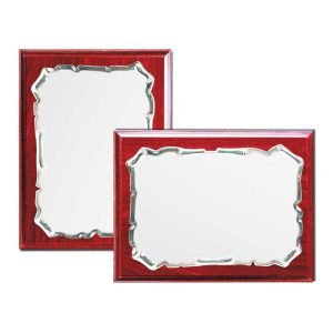 Wooden Plaques with Spanish Plate