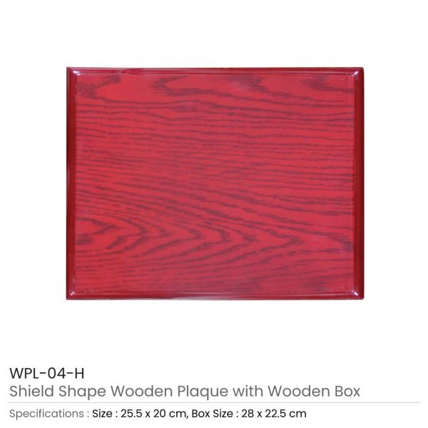 Medium Wooden Plaques with Box