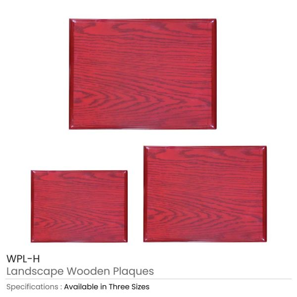 Wooden Plaques with Box WPL