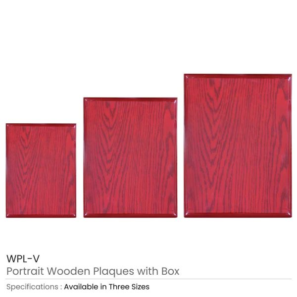 Wooden Plaques with Box
