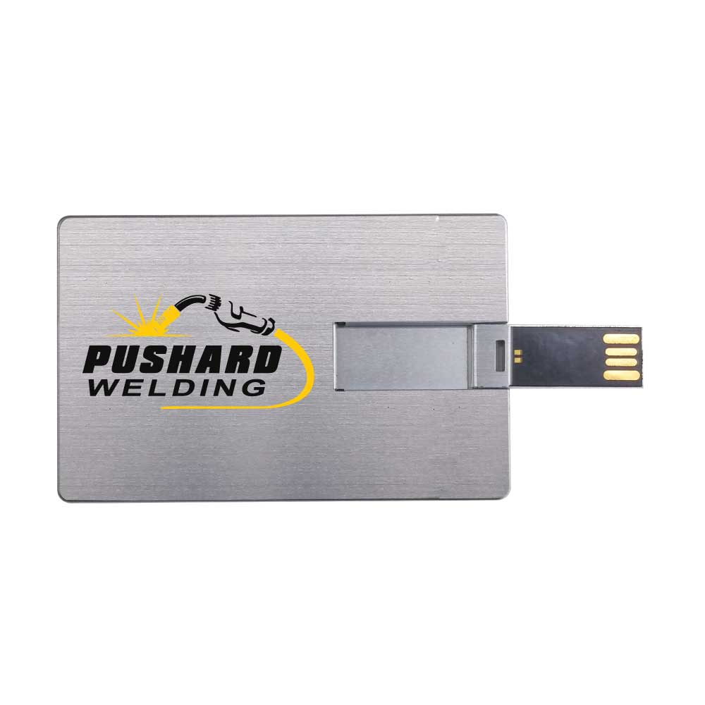 Aluminum Card Size USB-11-M