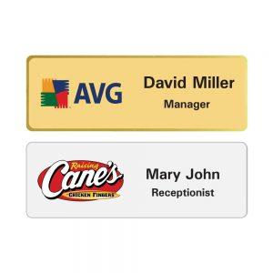 Aluminum Name Badges