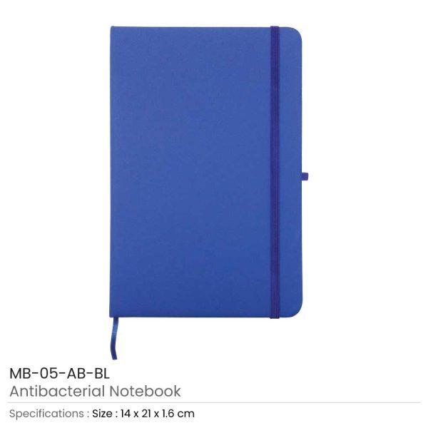 Antibacterial Notebooks Blue