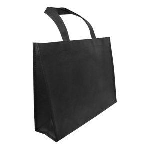 A4 Black Non Woven Bags NW-A4H-BK