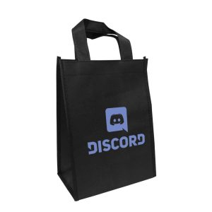 Branding Black Non Woven Bags NW-BK