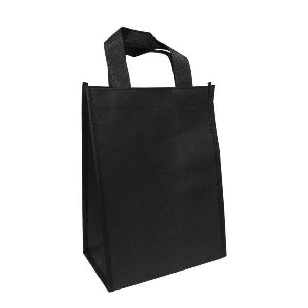 Black Non Woven Bags NW-BK