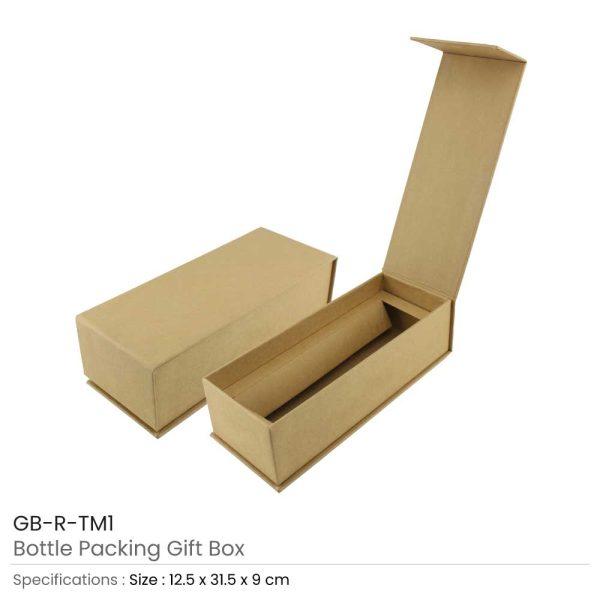 Bottle Gift Boxes GB-R-TM1