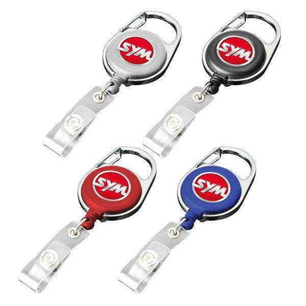 Branding Carabiner Reel Badges