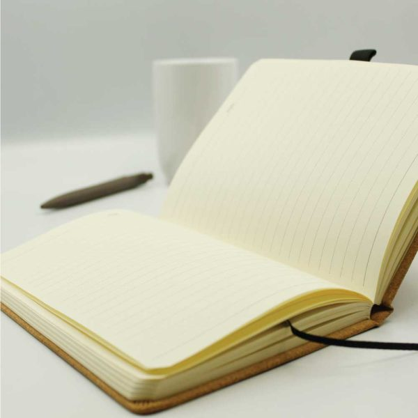 A5 Size Cork Cover Notebooks