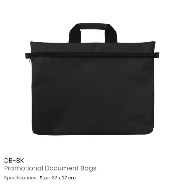Document Bags Blue