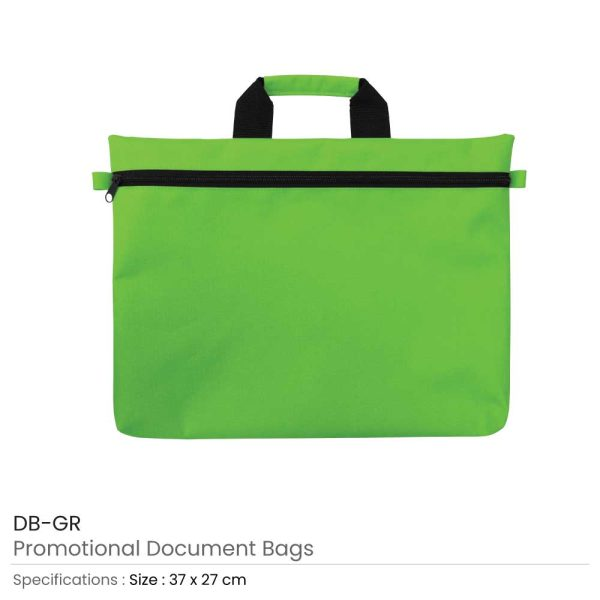 Document Bags Green