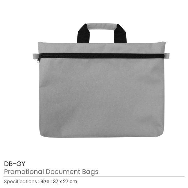 Document Bags Grey