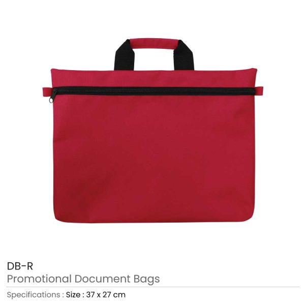 Document Bags Red