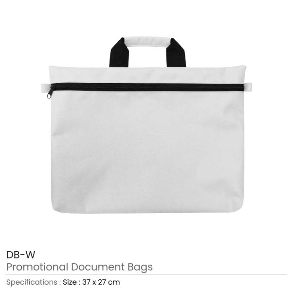 Document Bags White