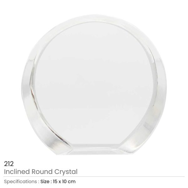 Inclined Round Crystal