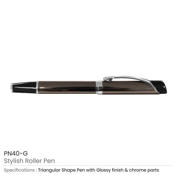 Gold Metal Roller Pen