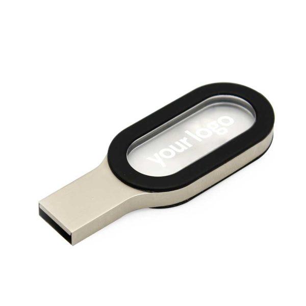 Branding Metal with Crystal USB Flash