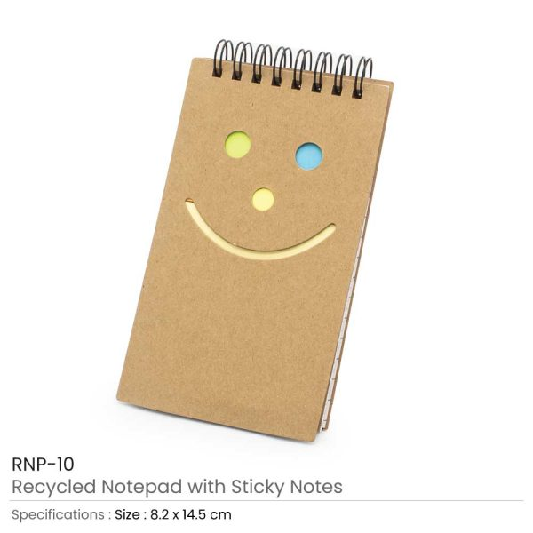 Promotional Notepad with Sticky Note
