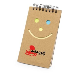 Branding Notepad with Sticky Note