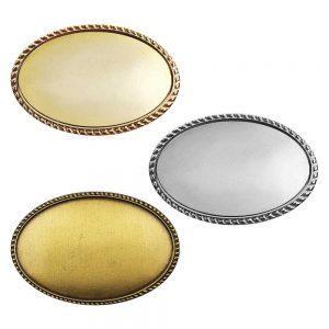Oval Logo Badges