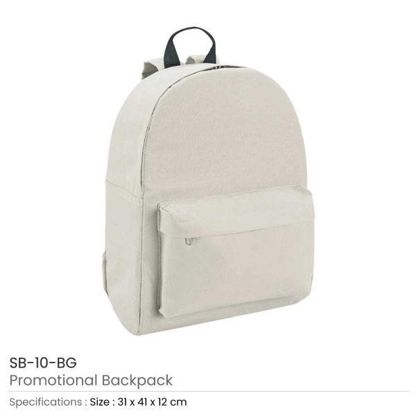 Promotional Backpack SB-10-BG