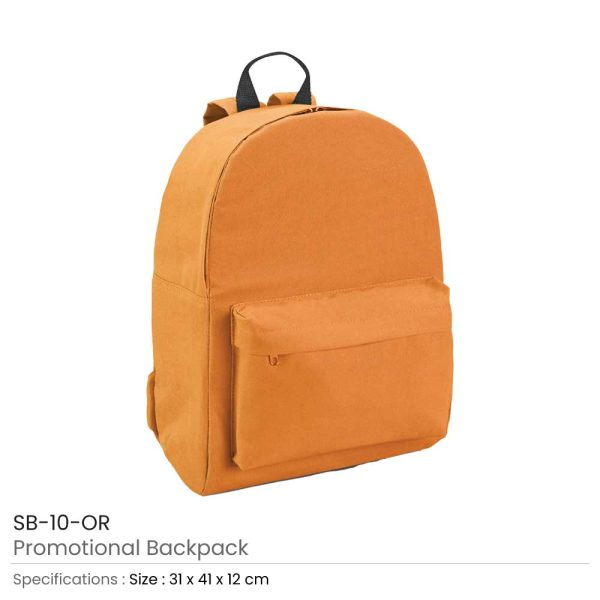 Promotional Backpack SB-10-OR
