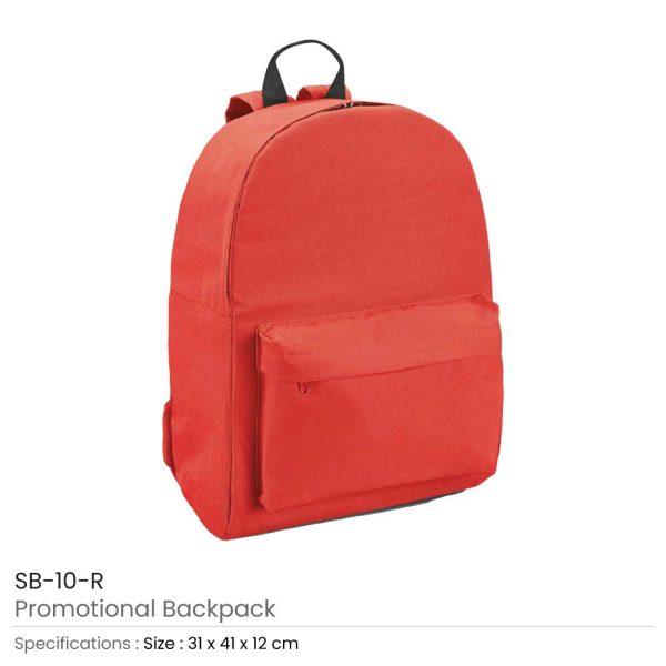 Promotional Backpack SB-10-R