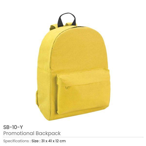 Promotional Backpack SB-10-Y