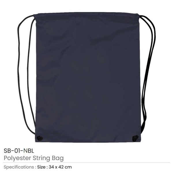 Promotional String Bags SB-01-NBL