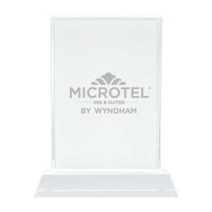 Branding Rectangular Crystal