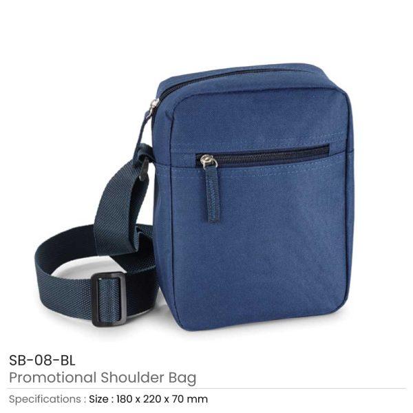 Shoulder Bags - Blue