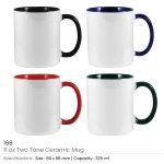 Two Tone Mugs 11oz 168