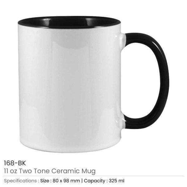 Ceramic Mugs 168-BK