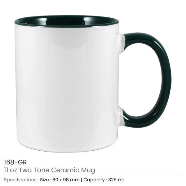 Ceramic Mugs 168-GR