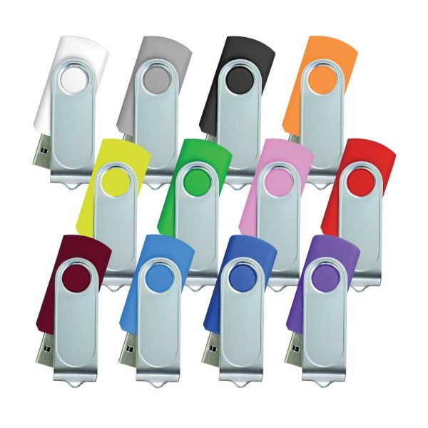 Swivel USB with 1 side Printing
