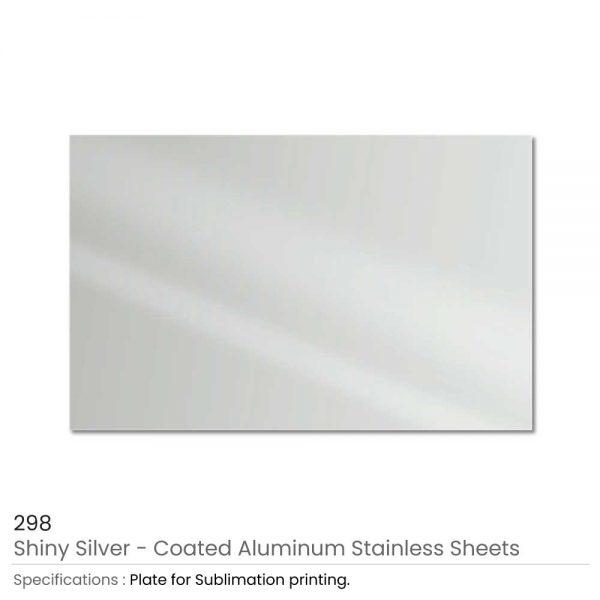 Shiny Silver Aluminum Sheets USA