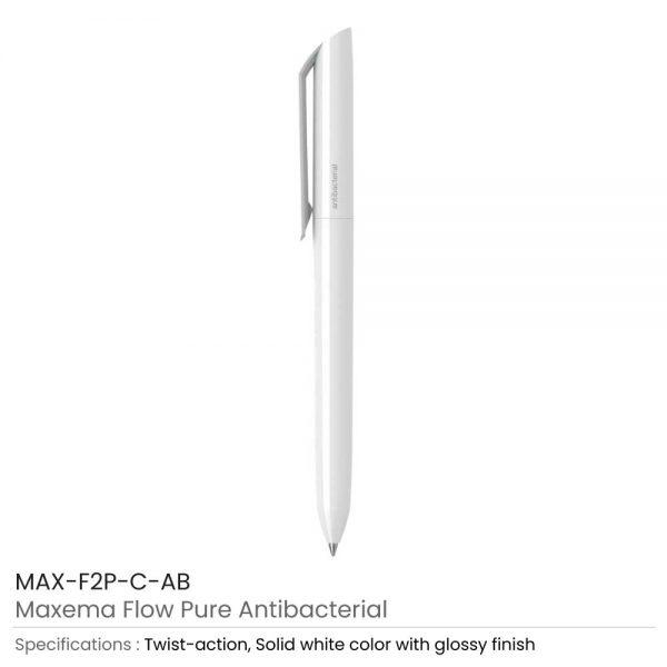 Antibacterial Maxema Flow Pure Pens
