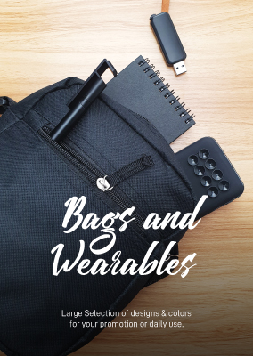 Bags and wearables catalog